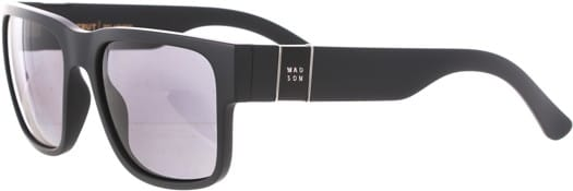 MADSON Strut Polarized Sunglasses - matte black/grey polarized lens - view large