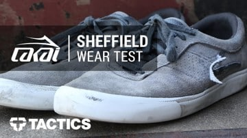 Lakai Sheffield Skate Shoes Wear Test Review