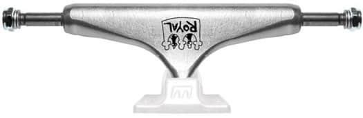 Royal Angel Pro Skateboard Trucks - raw/white (5.25) - view large