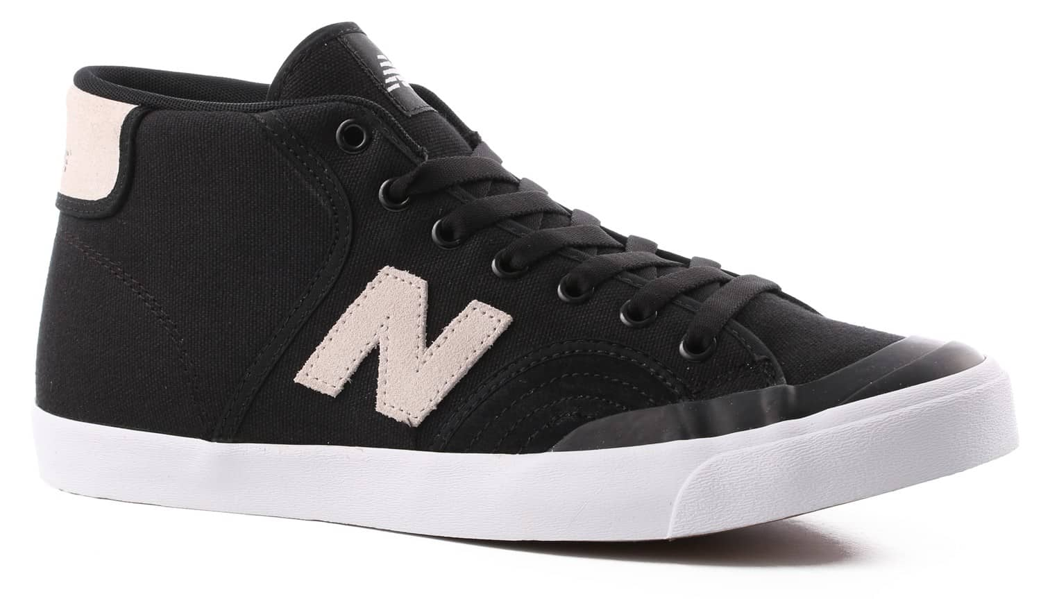 new balance skate shoes. new balance pro court 213 mid skate shoes - black/white