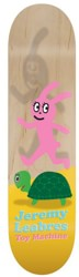 Toy Machine Leabres Turtle & Hare 8.25 Skateboard Deck - natural