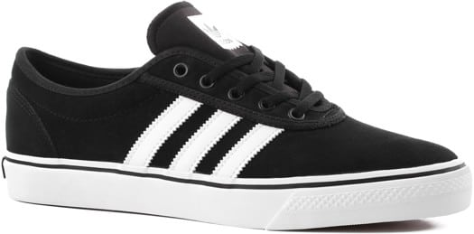 Adidas Adi Ease Skate Shoes - core black/footwear white/core black - view large