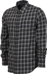 Vans Alameda II Flannel Shirt - black/new charcoal