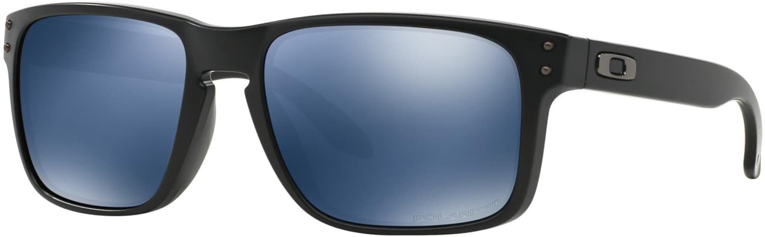 fa1b427fbe Oakley Holbrook Polarized Sunglasses - matte black ice iridium polar lens -  Free Shipping