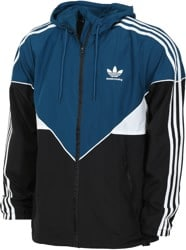 Adidas Premiere Windbreaker - black/blue night/white