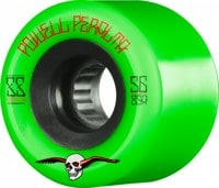 Powell Peralta Soft Slide Offset Skateboard Wheels - green (75a)
