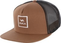 RVCA VA All The Way III Trucker Hat - tobacco