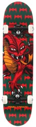 Powell Peralta Cab Dragon One-Off 7.75 Complete Skateboard - green/red