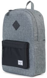 Herschel Supply Heritage Backpack - raven crosshatch/black