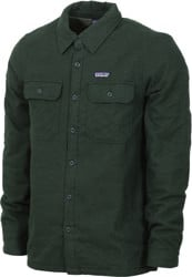 Patagonia Insulated Fjord Flannel Jacket - carbon