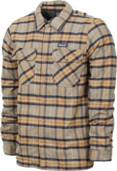 Patagonia Insulated Fjord Flannel Jacket - migration plaid: mojave khaki