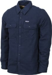 Patagonia Insulated Fjord Flannel Jacket - navy blue