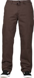 DC Shoes Wes Kremer Twill Pants - coffee bean