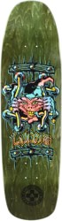 Black Label Emergency Lucero X2 8.88 Skateboard Deck - olive