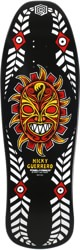 Powell Peralta Nicky Guerrero Mask 10.0 Skateboard Deck - black