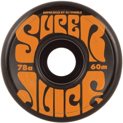 OJ Super Juice Skateboard Wheels - black (78a) - view large