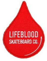 Lifeblood Blood Drop Patch - red