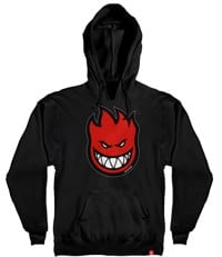 Spitfire Youth Bighead Pullover Hoodie - black/red