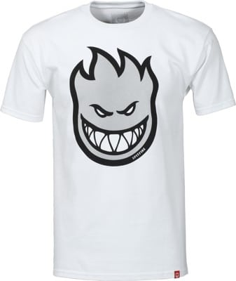 Spitfire Bighead Fill T-Shirt - white/reflective ink - view large