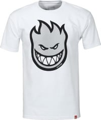 Spitfire Bighead Fill T-Shirt - white/reflective ink