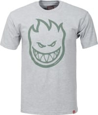 Spitfire Bighead T-Shirt - athletic heather/olive print