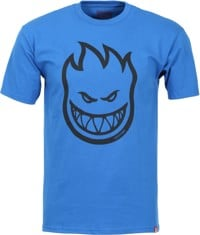 Spitfire Bighead T-Shirt - royal/black print
