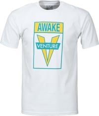 Venture Awake T-Shirt - white/green/yellow
