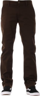 Brixton Reserve Chino Pants - brown - view large