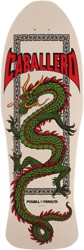 Powell Peralta Caballero Chinese Dragon 10.0 Skateboard Deck - bone