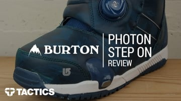Burton Photon Boa Step On 2018 Snowboard Boot Review