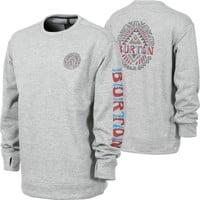 Burton Oak Crew Sweatshirt - monument heather