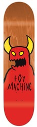 Toy Machine Sketchy Monster 9.0 Skateboard Deck - orange