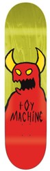 Toy Machine Sketchy Monster 9.0 Skateboard Deck - yellow