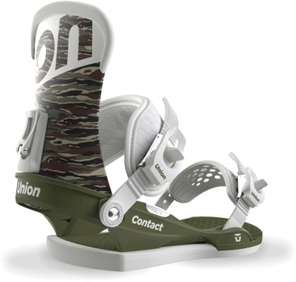 Union Contact Snowboard Bindings 2018 - camo - view large