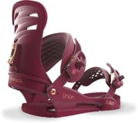 Union Juliet Women's Snowboard Bindings 2018 - burgundy