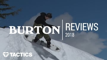 Burton 2018 Snowboard Reviews