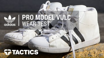 Adidas Pro Model Vulc ADV Skate Shoes Wear Test Review