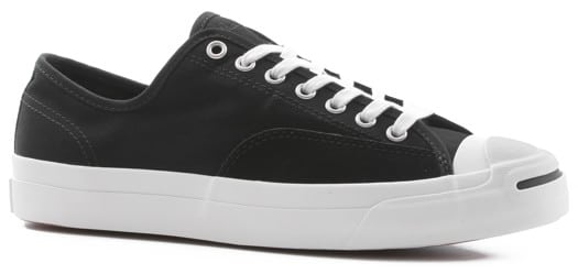 Converse Jack Purcell Pro Skate Shoes - black/black/white - view large