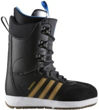 Adidas Samba ADV Snowboard Boots 2018 - core black/gold metallic/footwear white