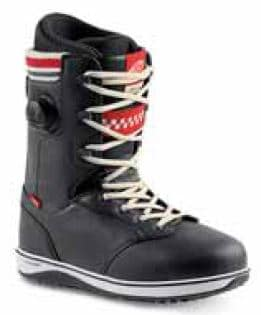 Vans Implant Snowboard Boots 2018 - black/white/red - view large