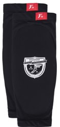 Footprint Low Pro Sleeve Shin Protector Pads - black