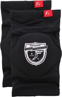 Footprint Low Pro Sleeve Knee Pads - black/shield logo - view large