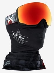 Anon M2 MFI Goggles - red planet/sonar red lens