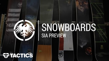 Never Summer 2018 Snowboards | SIA Preview