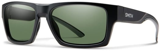 Smith Outlier 2 Polarized Sunglasses - matte black/chromapop polarized gray green lens - view large