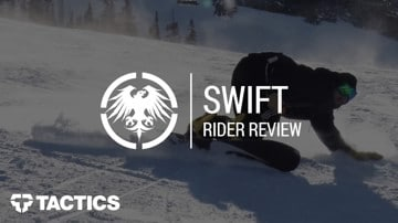 Never Summer Swift 2018 Snowboard Rider Review