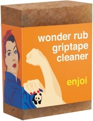 Enjoi Wonder Rub Griptape Cleaner - orange