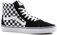 Vans Sk8-Hi Skate Shoes - (checkerboard) black/true white