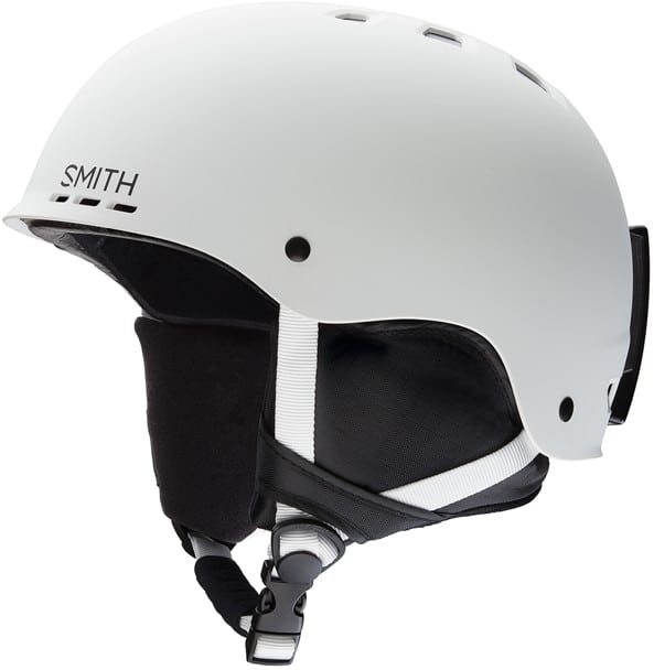 Smith Holt Snowboard Helmet - matte white - view large