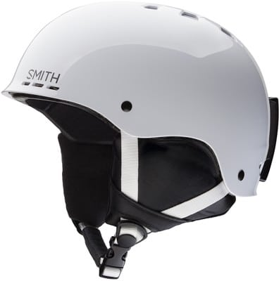 Smith Holt Jr. Kids Snowboard Helmet - white - view large